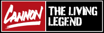 Cannon The Living Legend Logo