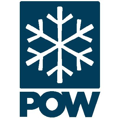 POW logo357 C stacked BLUE